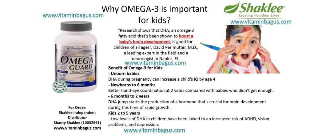 Omega Guard benefit for kids
