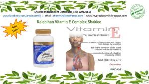 VItamin E complex Shaklee