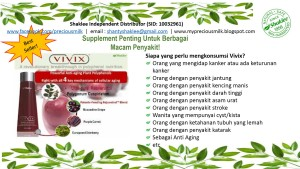 Vivix Shaklee poster