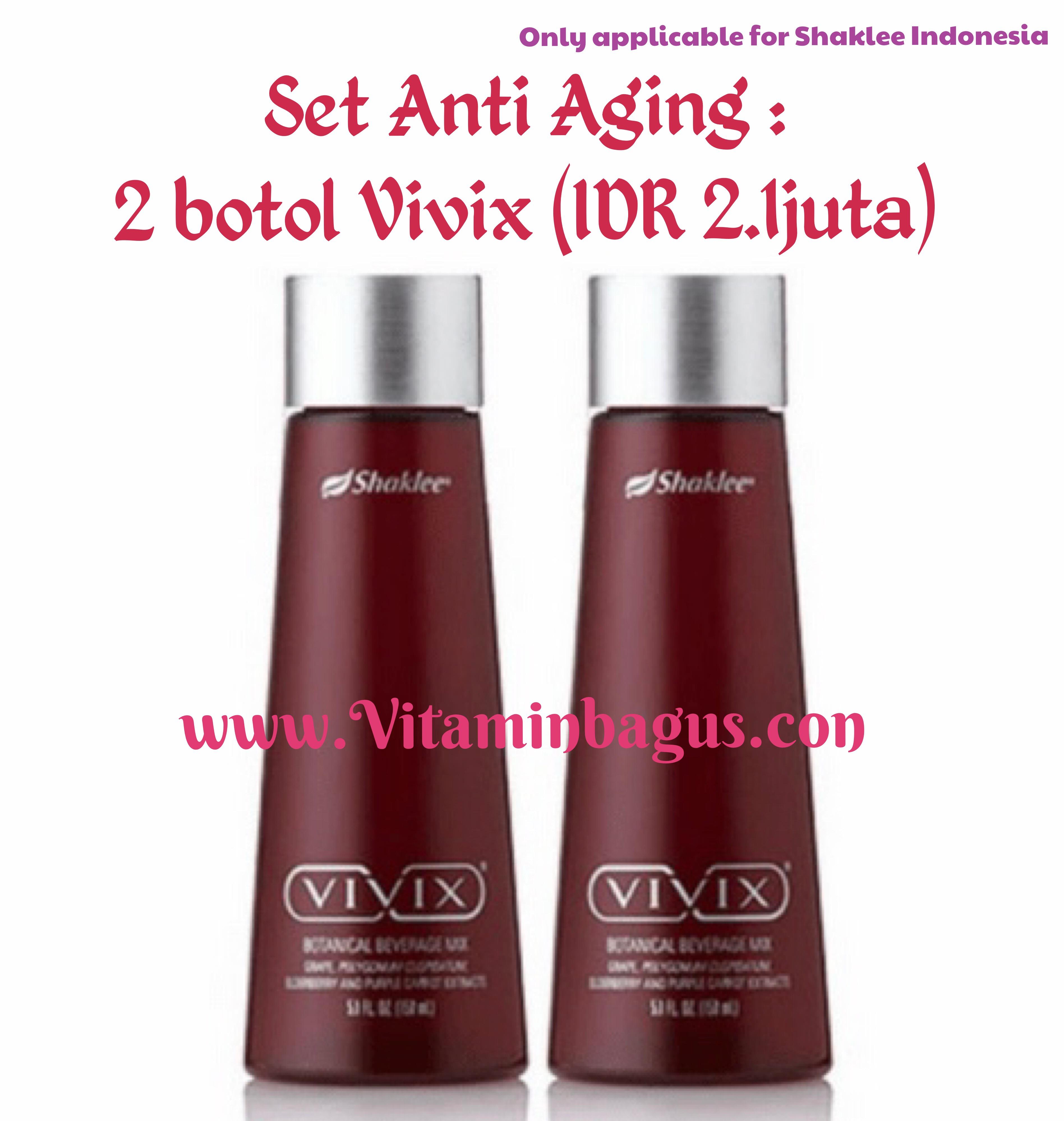 Set anti Aging shaklee indonesia