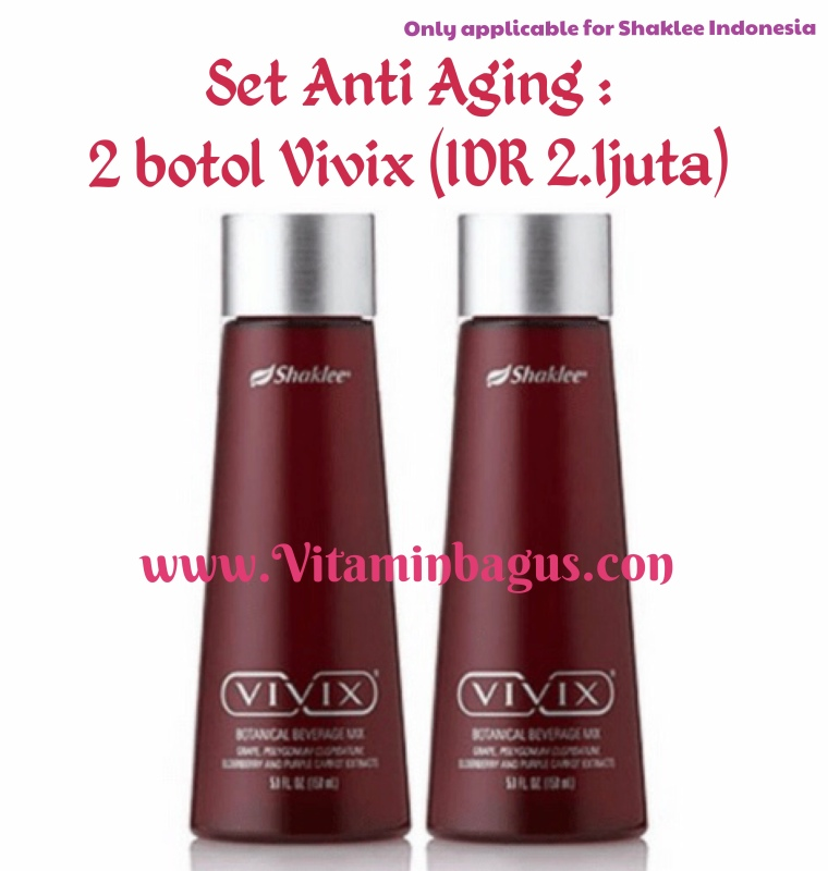 Set anti Aging shaklee indonesia