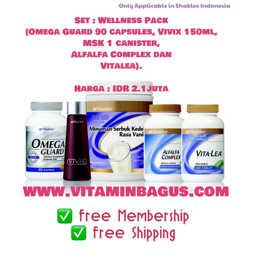 Wellness pack Shaklee Indonesia